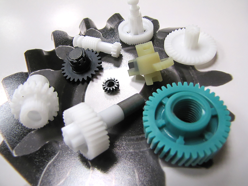 Plastic Motion Control, Gears, Unscrewing Molds