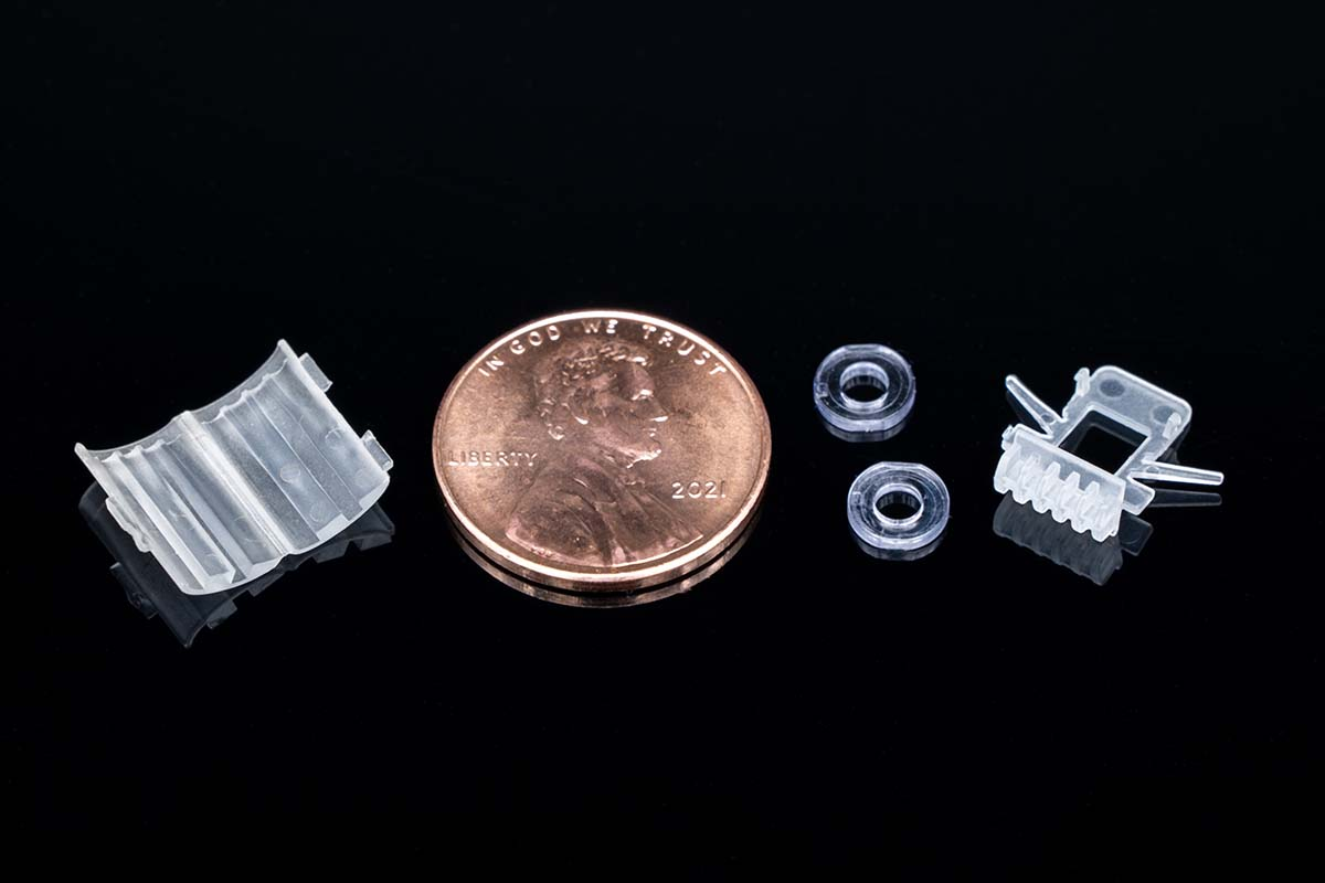 Plastic Molded Parts - Micro Molds